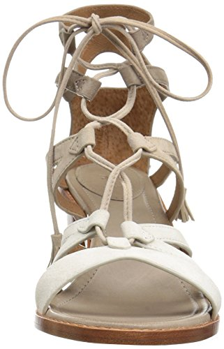 Frye Dames Brielle Gladiator Jurk Sandaal Wit / Multi