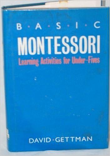 basic montessori david gettman
