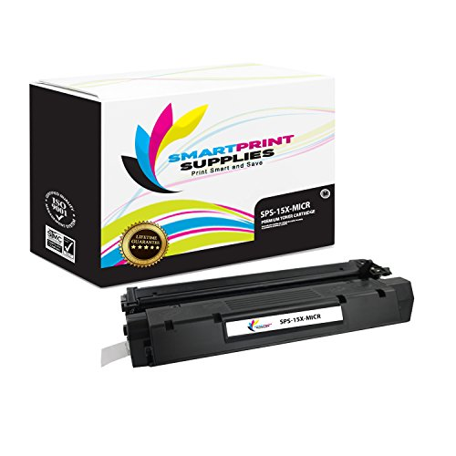 Smart Print Supplies Compatible 15X C7115X MICR Black High Yield Toner Cartridge Replacement for HP Laserjet 1200 1220 1000 3300 3330 Printers (3,500 Pages)