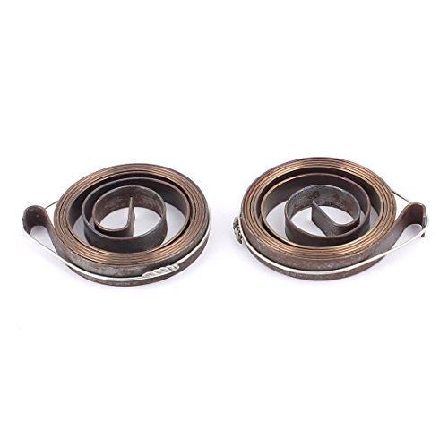 DealMux a15121800ux0660 6 mm Breite Metallbohrer Pinolenvorschub Return Coil Spindel SPRING 2Pcs,