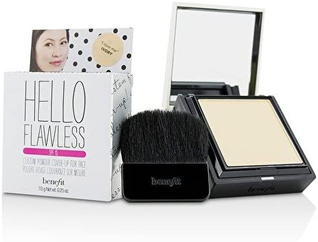 Benefit Hello Flawless! Custom Powder Cover Up For Face SPF15 - # I Love Me (Ivory) IB163 7g/0.25oz: Amazon.es: Belleza
