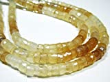 """Mystic Chalcedony Faceted Wheels- 8""""Strand -Stones Measure -6mm by Gemswholesale"""