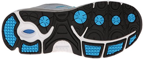 Balance de óptimo Shoe Plateado Azul New control nbsp;un running W3040 la mujer 6X6dAq
