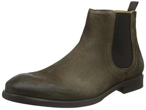 Hudson London Entwhistle Suede, Stivali Chelsea Uomo Beige (Taupe)