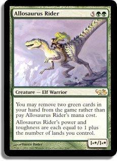 Magic: the Gathering - Allosaurus Rider - Duel Decks: Elves vs Goblins