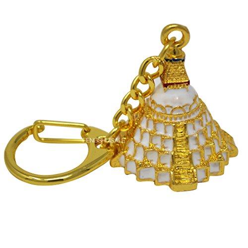 (Fengshui Boudnanath Stupa Keychain W Fengshuisale Red String Bracelet W3301 )