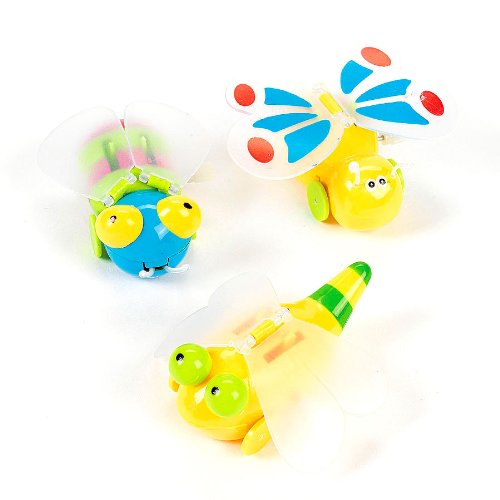 Wind-Up Flying Bugs (1 dz)
