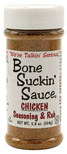Bone Suckin' Sauce Chicken, Seasoning & Rub Spice, 5.8oz