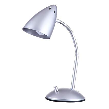 Flexo LED Lámpara Escritorio,Lampara De Mesa Luz de Lectura ...