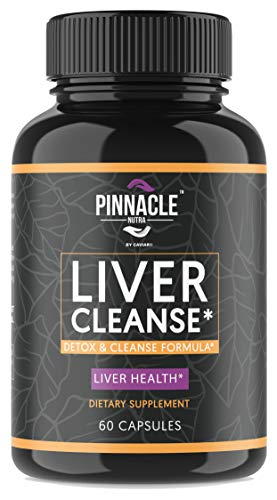 Repair Formula - Liver Cleanse Detox Supplement for Liver Health Support - Natural Liver Repair Formula with Milk Thistle Extract, Beet Root, Chanca Piedra, Grape Seed, Turmeric, Artichoke & Ginger - 60 Capsules