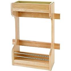 Rev-A-Shelf Small Sink Base Door Storage Organizer, Natural