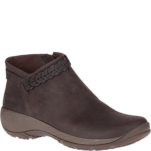 Merrell Women's Encore Braided Bluff Q2 Fashion Boot, Bracken, 10.5 M - Bracken Shoes Brown Womens