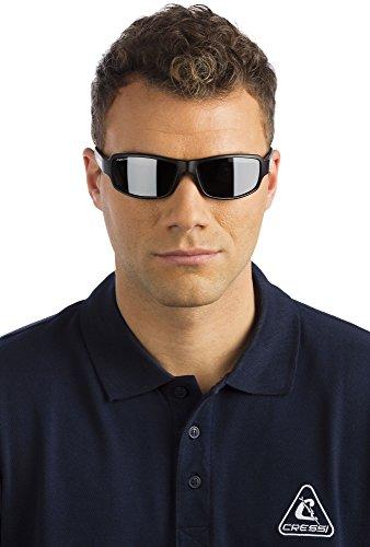 Ninja Azul Talla Unisex Sol Lentes Oscuro Cressi Gafas de Única Camou Gris Adulto fdxSq