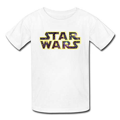 [AOPO Star Wars LOGO T-shirts For Kids Unisex Large White] (Carrie White Halloween Costume)