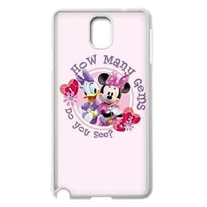 Samsung Galaxy Note 3 White phone case Beautifully Disney Heroines Minnie Mouse DVA0934857