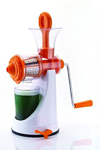 Magneitta Fruits and Vegetable Juicer with Steel Handle (Color May Vary)