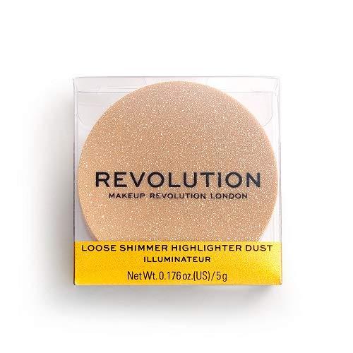 Makeup Revolution Precious Stone Loose Highlighter Rose Quartz, Rose, 5 g