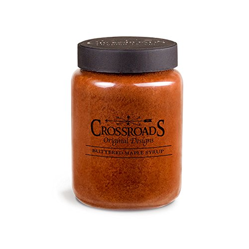 Crossroads Candles 26 Ounce Jar Candle – Buttered Maple Syrup