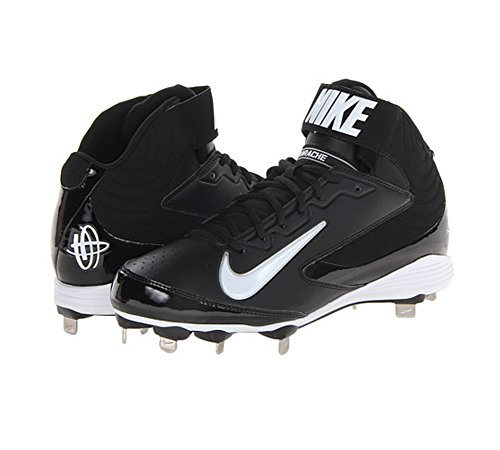 Nike Men's Huarache Strike Mid Metal Baseball Cleat