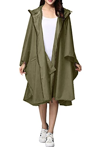 LIGHTENING DEAL! STYLISH RAIN PONCHO JACKET COAT FOR ONLY $16.95!