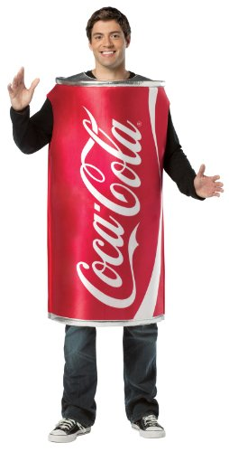 Rasta Imposta Coca-Cola Can, Red, One Size (Cocacola Can Costume)