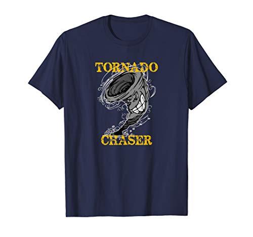 Tornado Chaser Shirt Storm Chaser Hunter Gift Men Kids Women]()