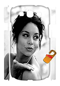 phones case for Vanessa Hudgens,cell phones cases for Samsung S3(3D) at HTYJ_AE_248676Ld.