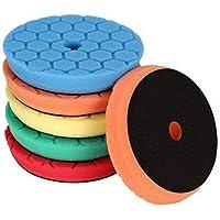 SPTA 5pcs 150mm Hex Logic esponjas de pulido