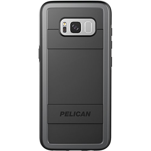 Cases Voyager Cell Phone - Pelican Cell Phone Case for Galaxy S8 Plus - Black/Light Gray
