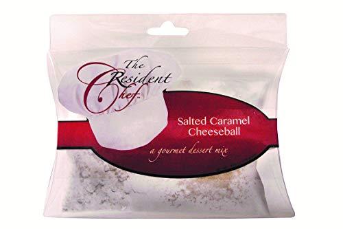 The Resident Chef Gourmet Salted Caramel Cheeseball -