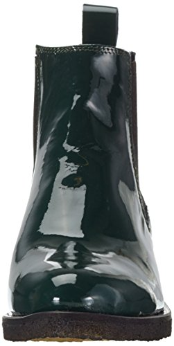 Green patent Benita Verde Stivali Shoe Donna Biz Chelsea Bottle Yg5xU8