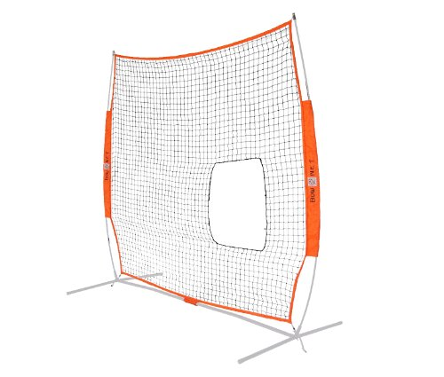 Bownet 7' x 7' Portable Pitch Thru Softball Practice Net (Net Only) by Bownet
