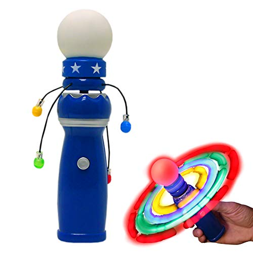 Windy City Novelties Hand-Held LED Light Up Galaxy Spinner with Flashing LED Lights for $<!--$7.99-->