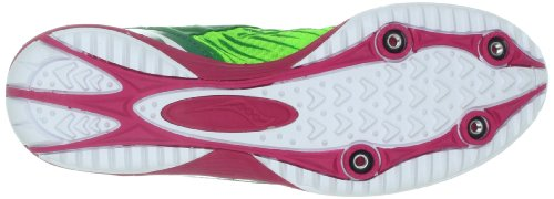 Saucony Women's Kilkenny XC5 Cross Country Spike Shoe Green/Pink a0bxOVDs