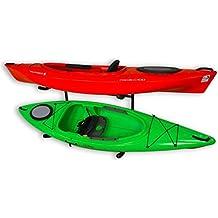 Stoneman Sports Kayak and Canoe Freestanding Storage Rack   Indoor-Outdoor Boat Stand