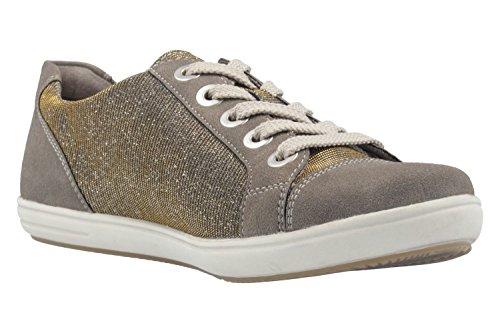 Remonte D9105 - zapatilla deportiva de piel mujer gris