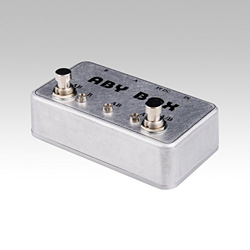 ABY Selecor Combiner Switch AB Box New Pedal Footswitch Amp / guitar AB by LANDTONE