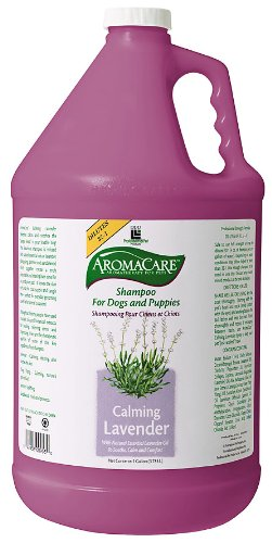 PPP AromaCare Calming Lavender Dog Shampoo, 1-Gallon by PPP