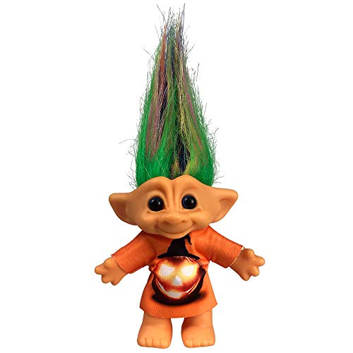 """Yintlilocn Lucky Troll Dolls,Vintage Troll Dolls Chromatic Adorable for Collections, School Project, Arts and Crafts, Party Favors - 7.5"""" Tall Colorful Hairs (Include The Length of Hair)"""