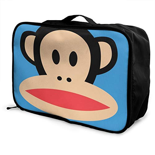 Paul Frank Customize Casual Portable Travel Bag Suitcase Storage Bag Luggage Packing Tote Bag Trolley Bag -