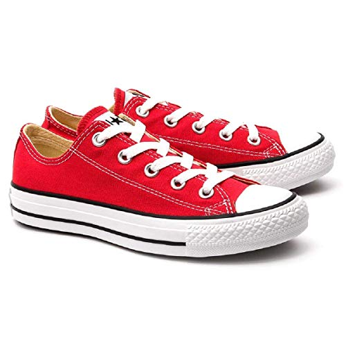 4 Taylor Chuck Converse m Star Low D Top Us Red M9696 All 4Ff4wxq