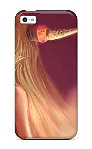 Shock-dirt Proof Blondes Video Games Touhou Demons Hornsoni Ibuki Suika Case Cover For Iphone 5c