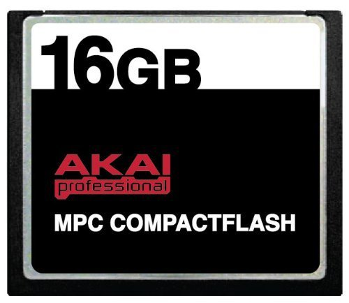 (16GB Akai MPC CompactFlash CF Memory Card for MPC500, MPC1000, MPC2500 and)