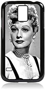 linJUN FENGLucille Ball (Lucy)- Hard Black Plastic Snap - On Case-Galaxy s5 i9600 - Great Quality!