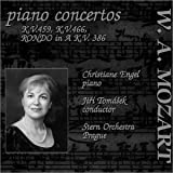 Mozart Piano Concertos:  Piano Concerto No. 19 in F major, KV 459; Piano Concerto No. 20 in D minor, KV 466;  Rondo in A major, KV 386