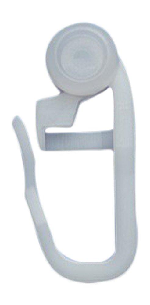 /Blanc 8/mm/ /Haute Qualit/é Roulettes int/érieur Roulettes/ crochets de rideau pliss/é r/öllchen rewagi/ /100/pi/èces