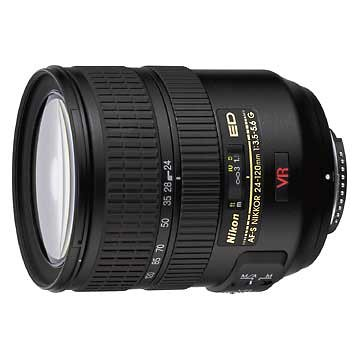 Nikon 24-120mm f/3.5-5.6G ED IF Autofocus VR Nikkor Zoom Lens (Discontinued by Manufacturer)