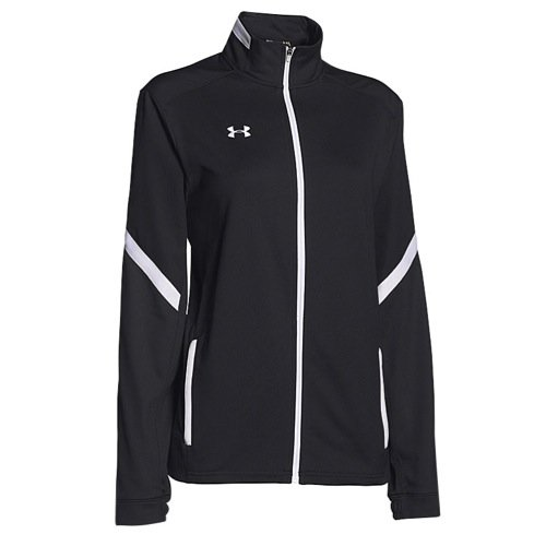 Under Armour Womens UA Qualifier Knit Warm-Up Jacket Small Black