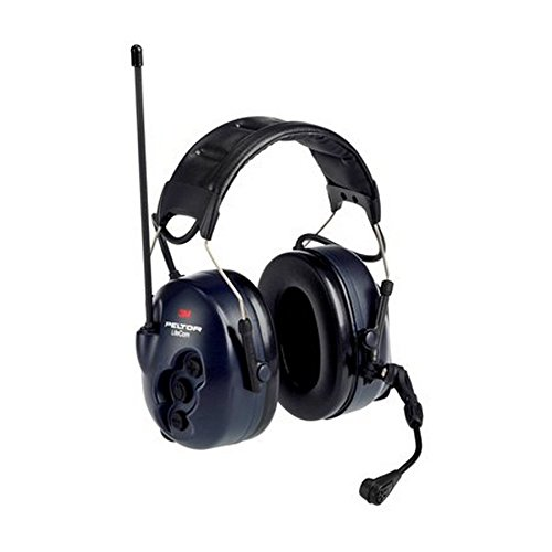 PELTOR Lite Com BRS MT53H7A4600-NA 8 Channel Two Way Radio Headset