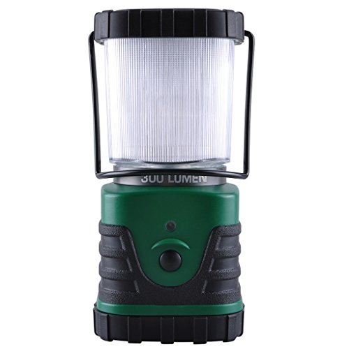 LED Camping Lantern Light 300 Lumens 3 Modes Long Lasting Up To 6 DAYS Straight - Portable Water Resistant for Hiking, Camping, Emergencies and Home Use